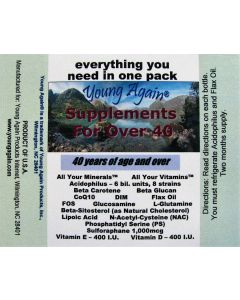 Supplements for Over 40