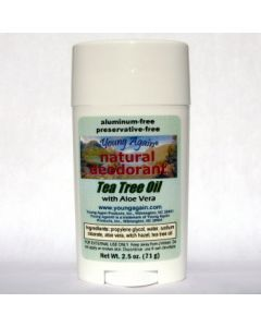 Deodorant (natural) - Tea Tree Oil